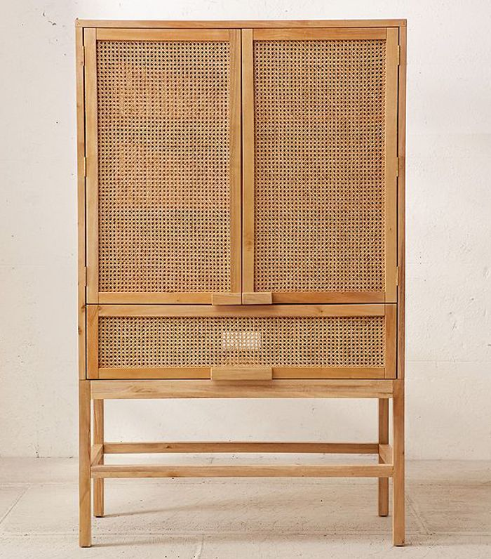 Marte Storage Cabinet - Light Brown One Size at Urban Outfitters