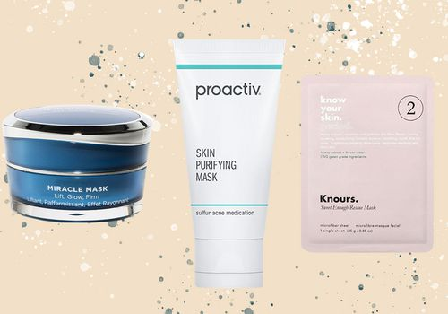 3 different face masks for acne