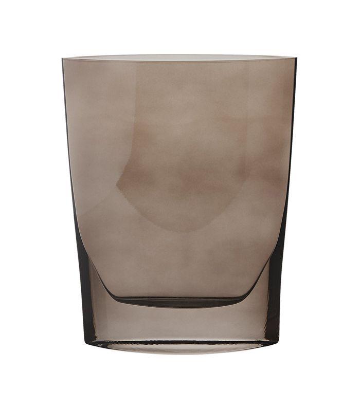 Tilbury Smoke Glass Vase