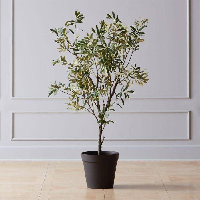 CB2 Faux Olive Tree 4'