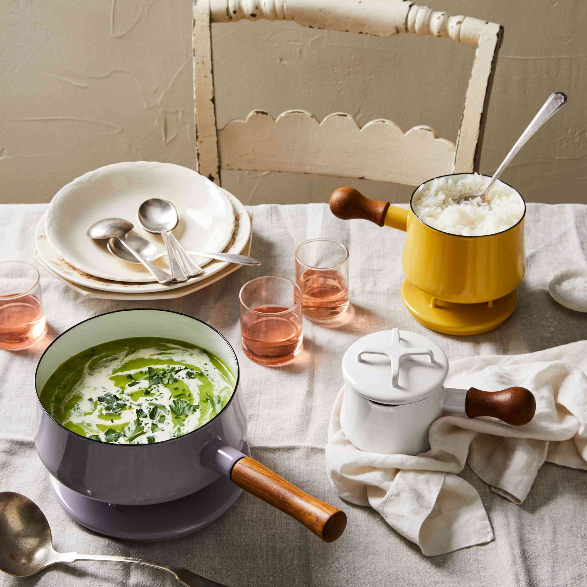 Dansk Kobenstyle 3pc Pastel Cookware Set