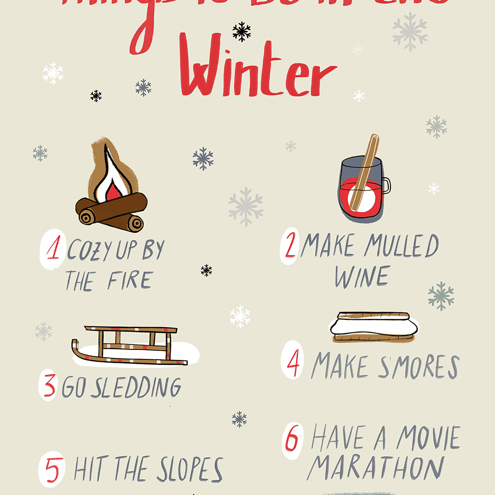 50 Things To Do In The Winter No Matter Your Mood