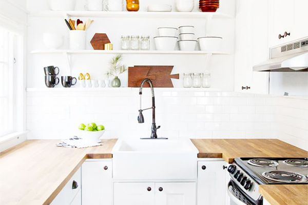 clean and organized kitchen