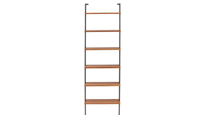 CB2 Helix 96-Inch Acacia Bookcase