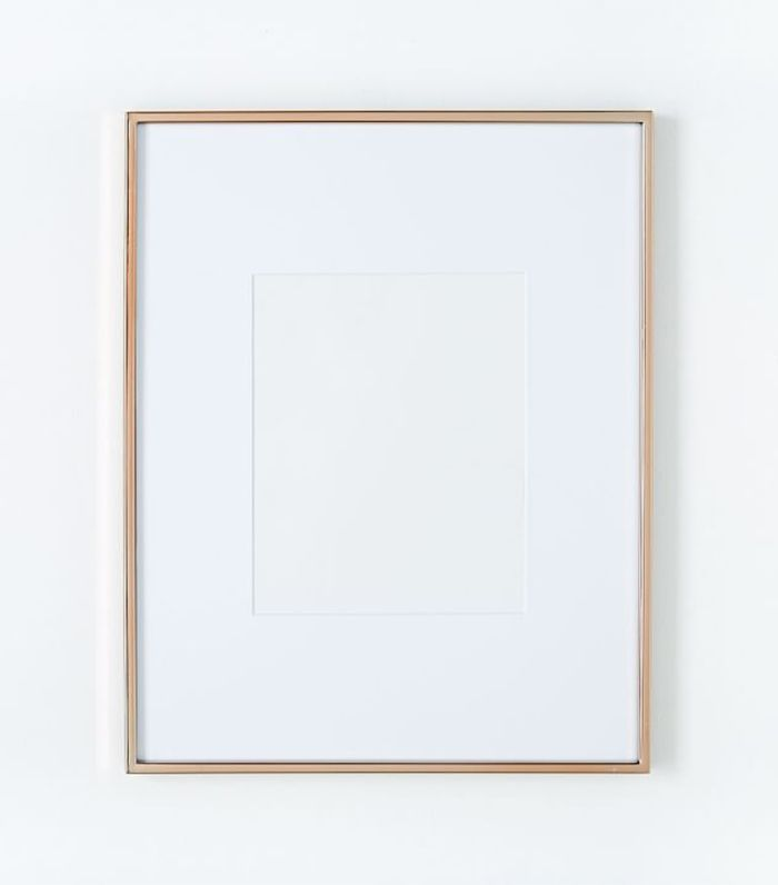 West Elm Rose Gold Gallery Frame