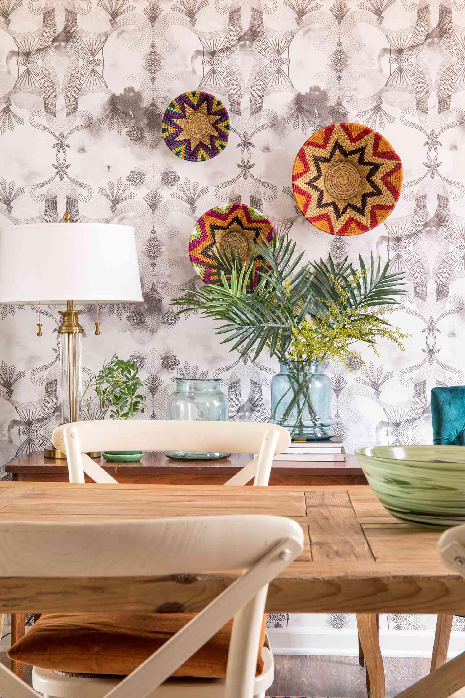 casa watkins living dining room vignette