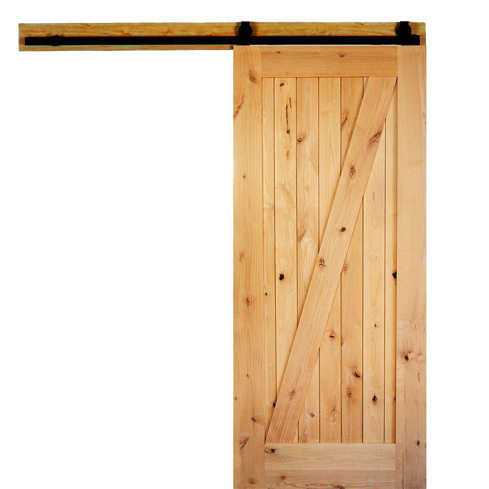 Krosswood Doors Sliding Barn Door Collection