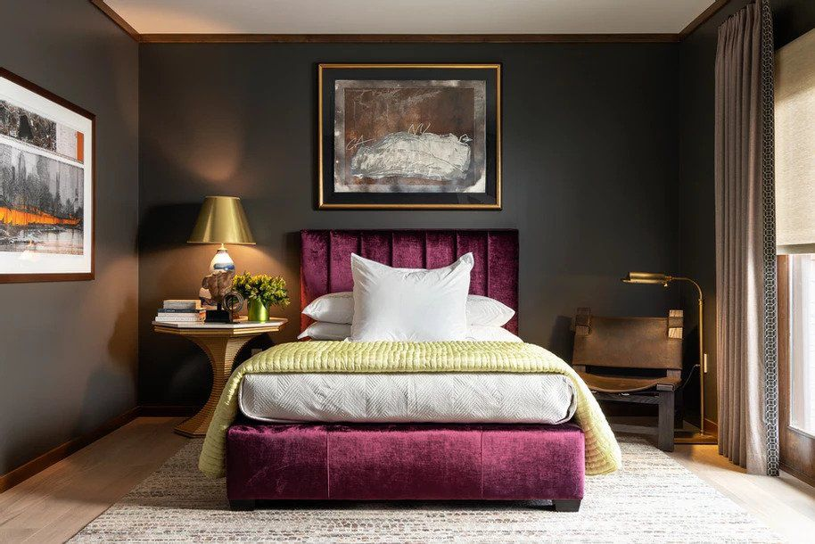 tips for fall decorating: saturated hues