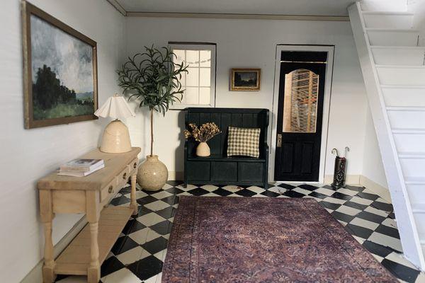 Dollhouse entryway