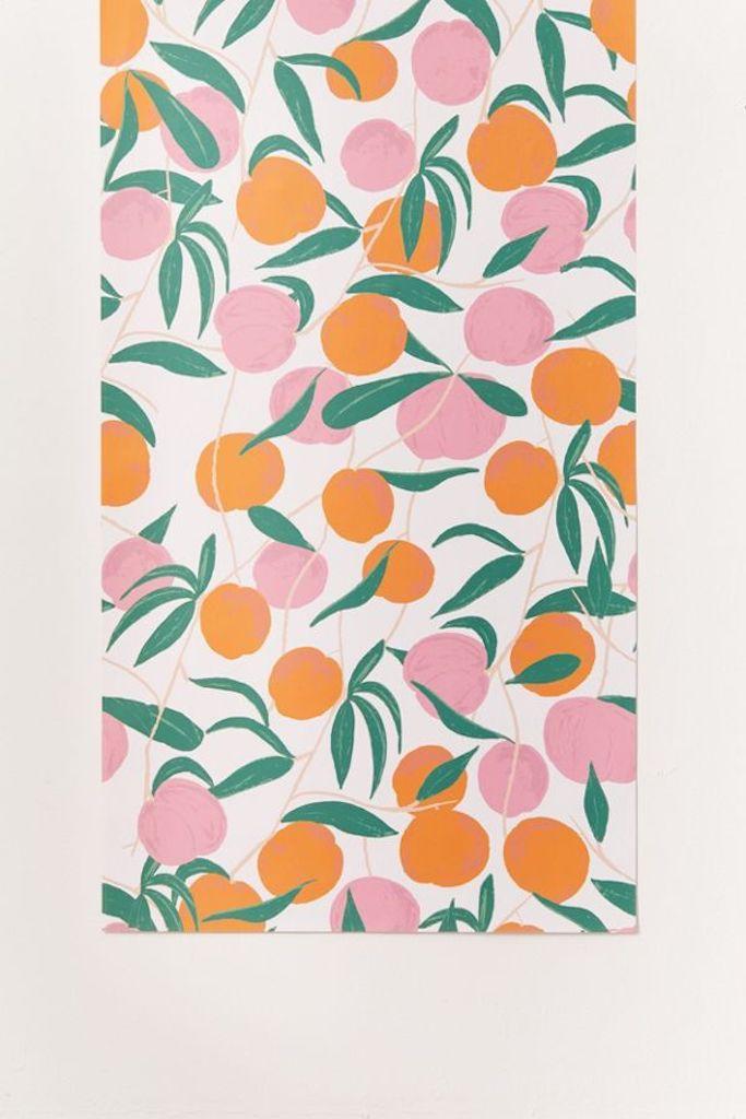 Peach—Removable Wallpaper