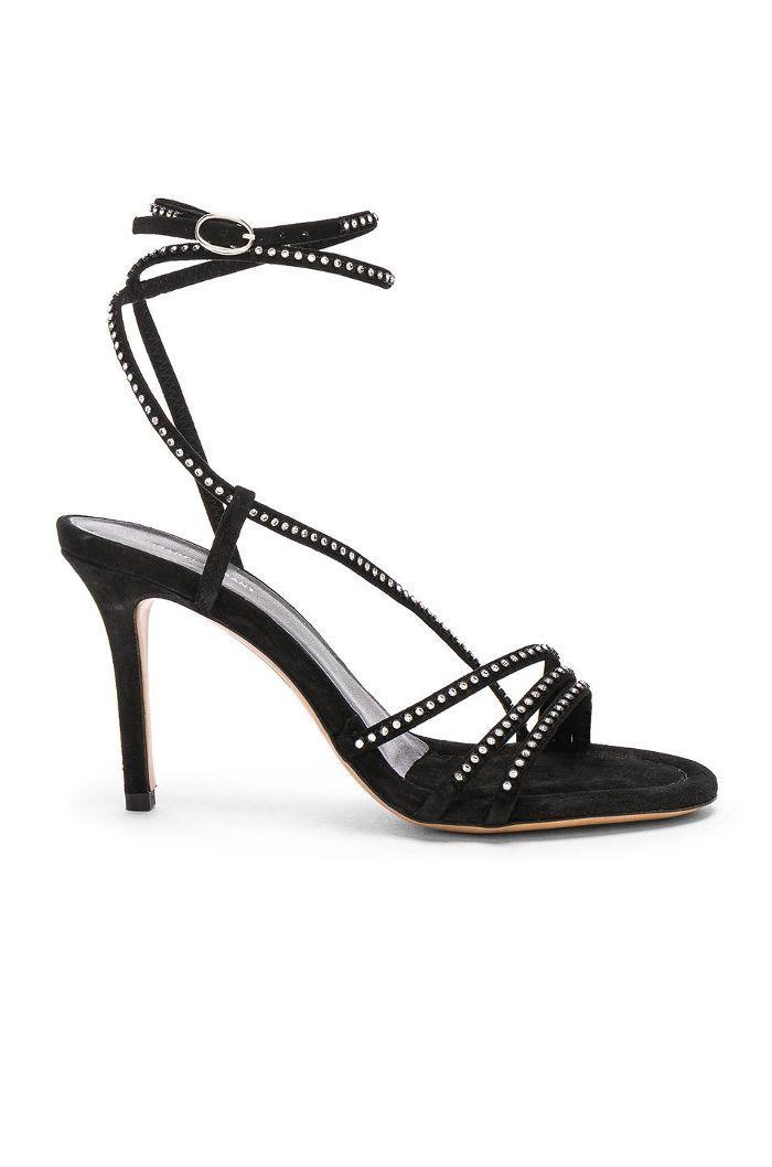 Suede Amspee Sandals