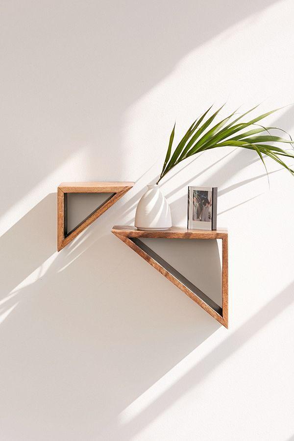 Cleo Geo Triangle Shelf