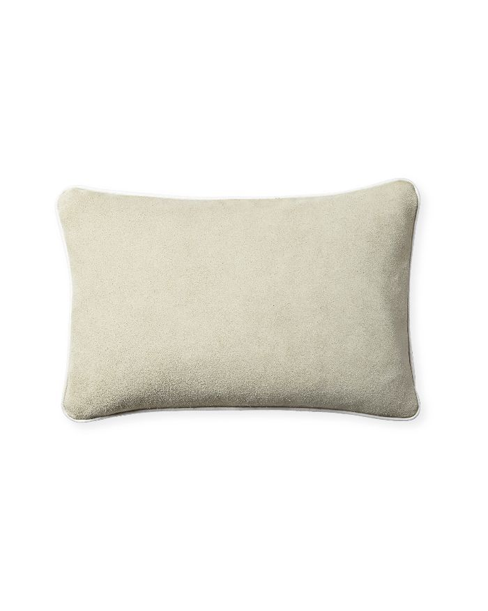 Serena & Lily Suede Pillow Cover