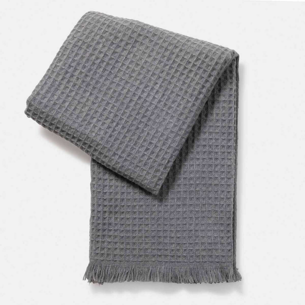 Thermal Stitch Woven Throw