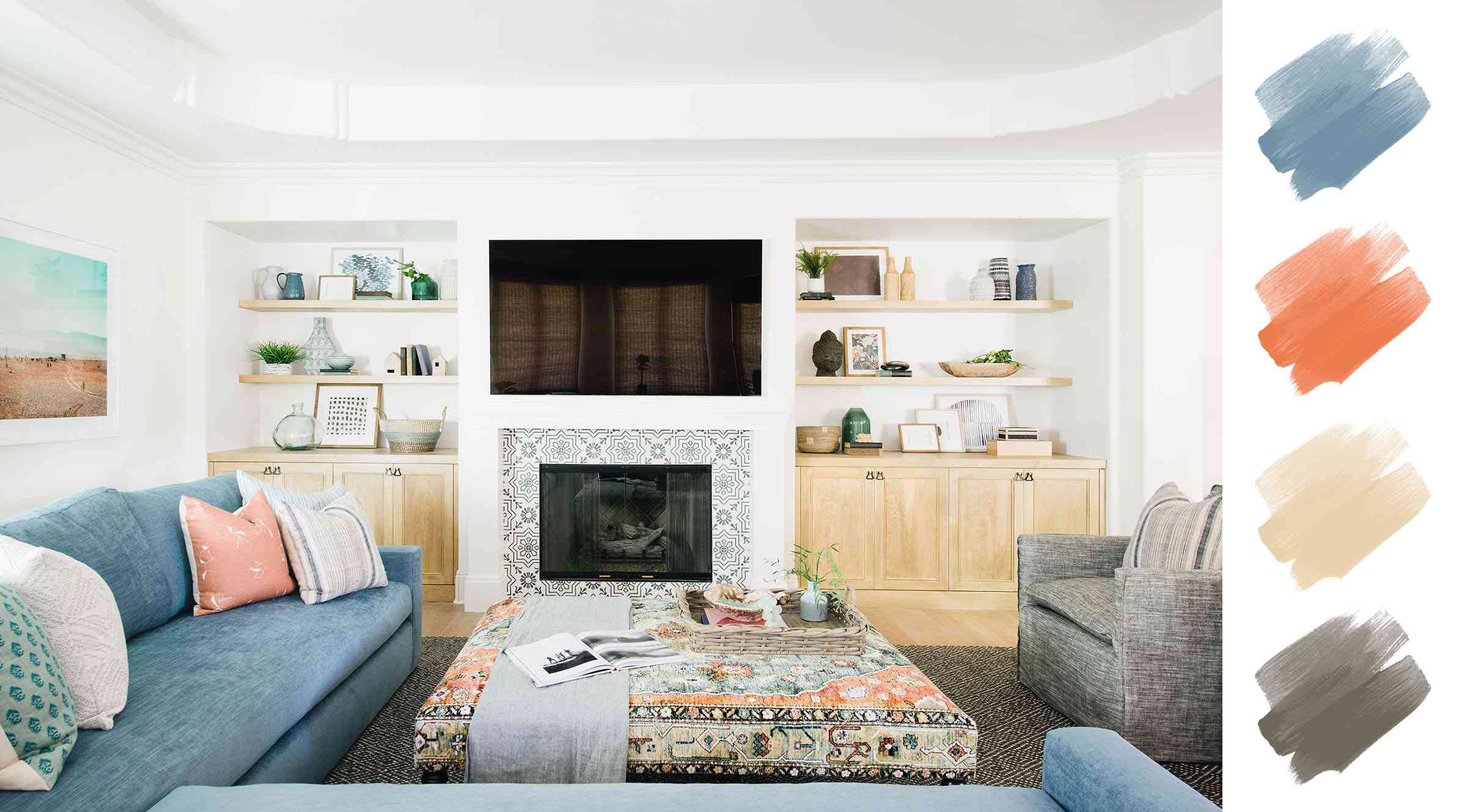 6 Gorgeous Living Room Color Schemes, Color Schemes For Living Room