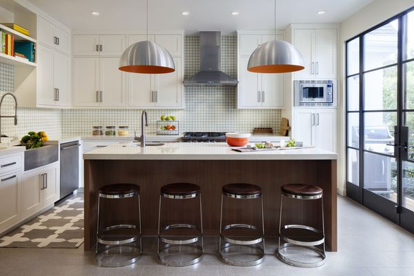 makeover of the week - dated kitchen after photo
