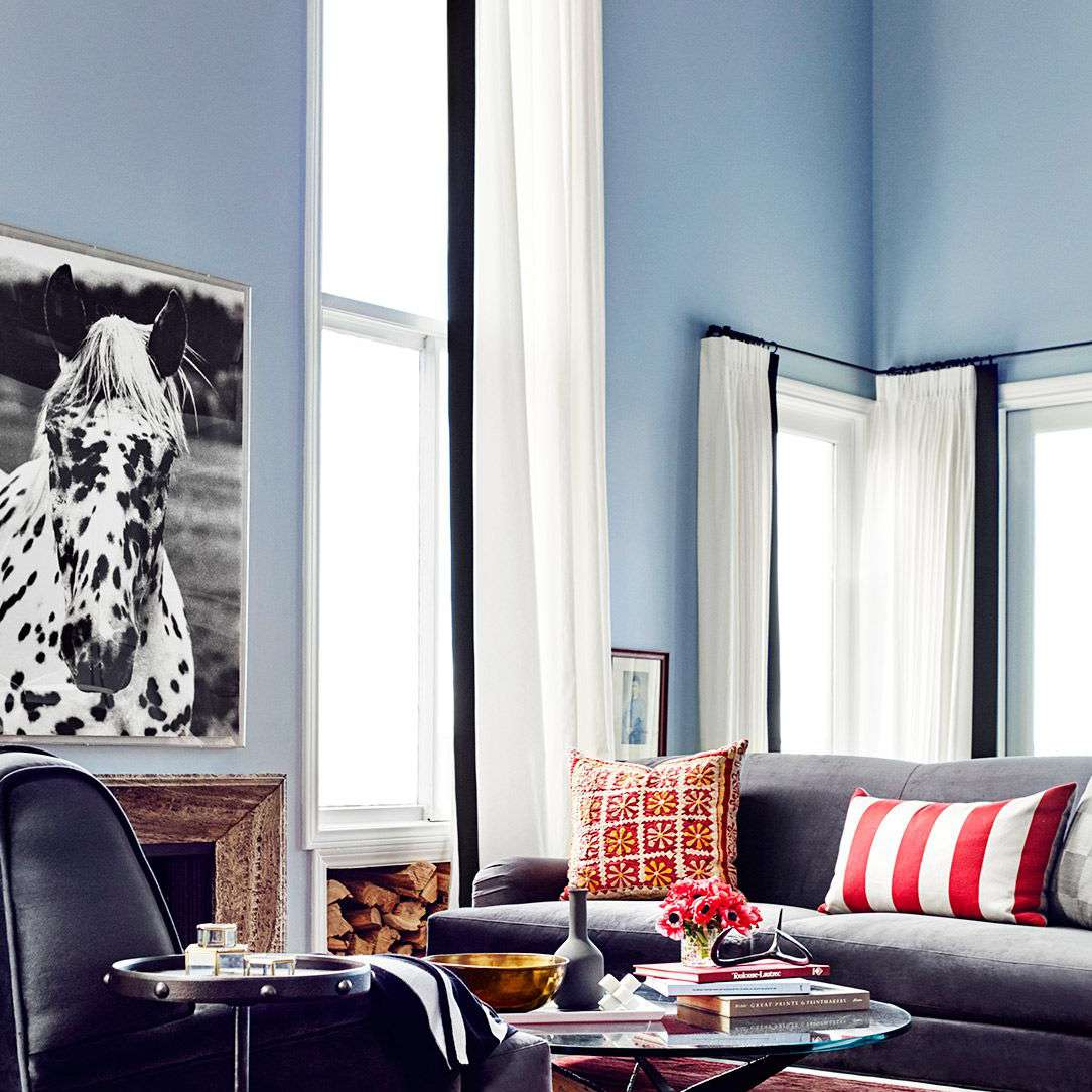 Jessica Alba—guest living room