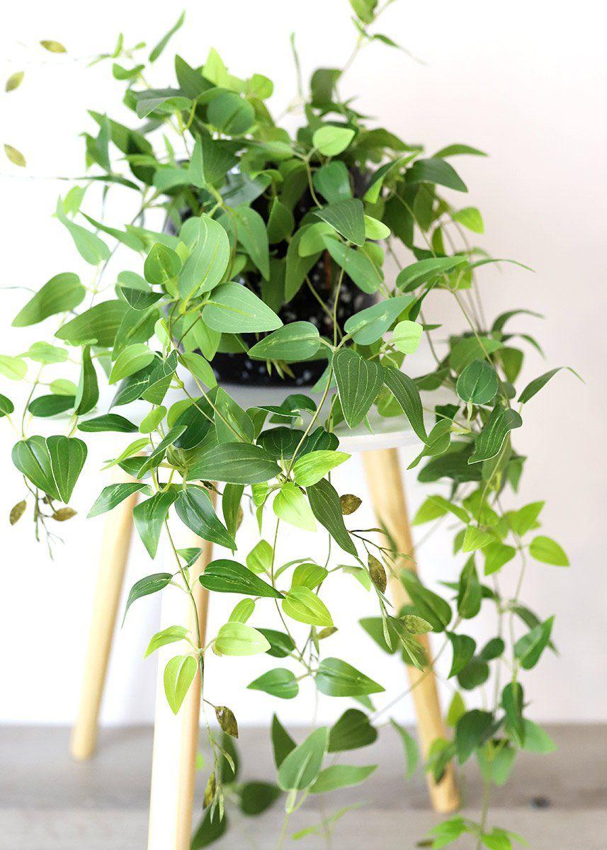 Artificial Plants Hanging Tradescantia Houseplant