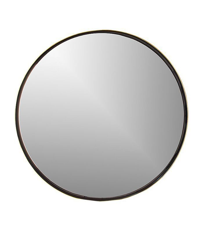 CB2 Shadow Circle Wall Mirror