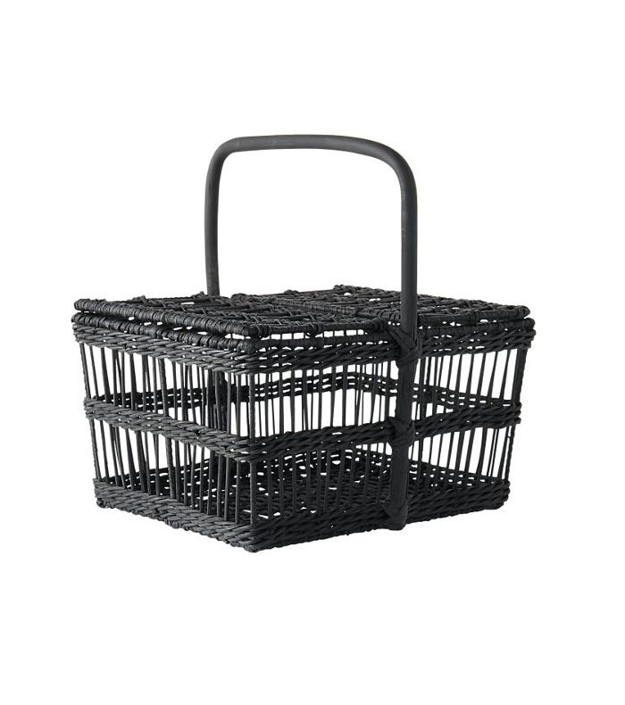 grant black picnic basket