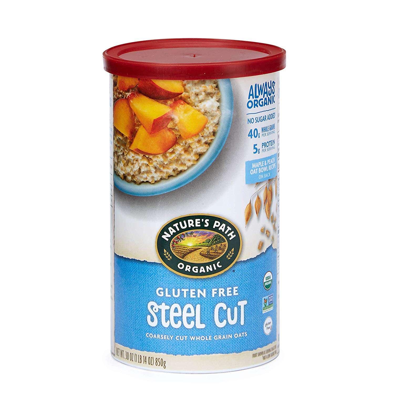 Gluten Free Steel Cut Oatmeal
