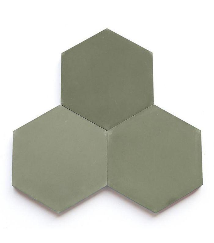 Clé Tile Solid Hex Tiles
