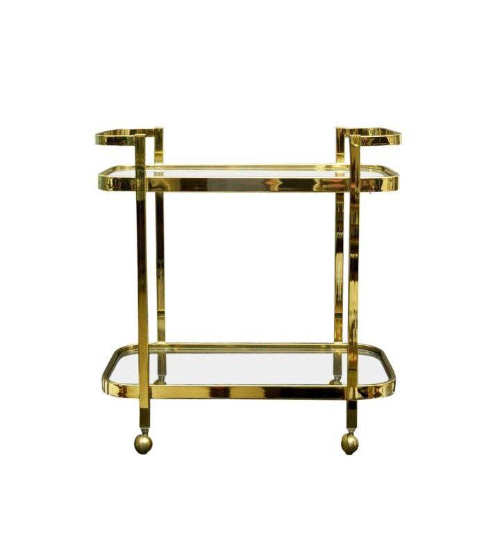 Chairish Hollywood Regency Bar Cart