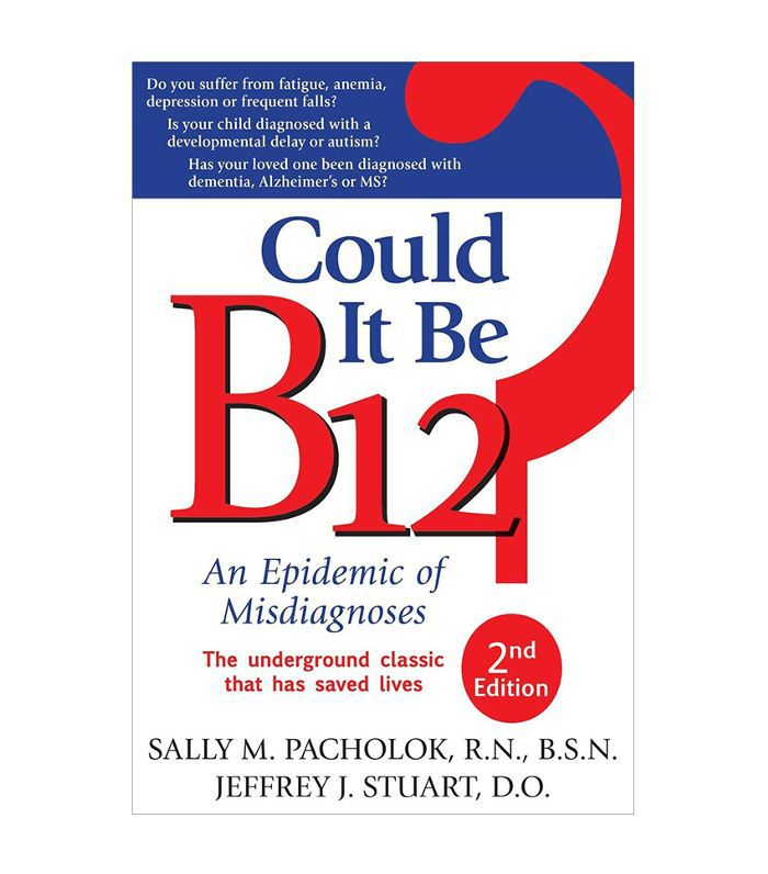 Could It Be B12? book cover with red and blue writing.