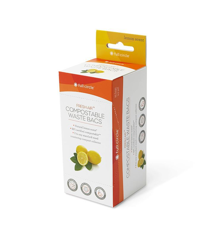 Full Circle Home Lemon-Scented Compostable Bags