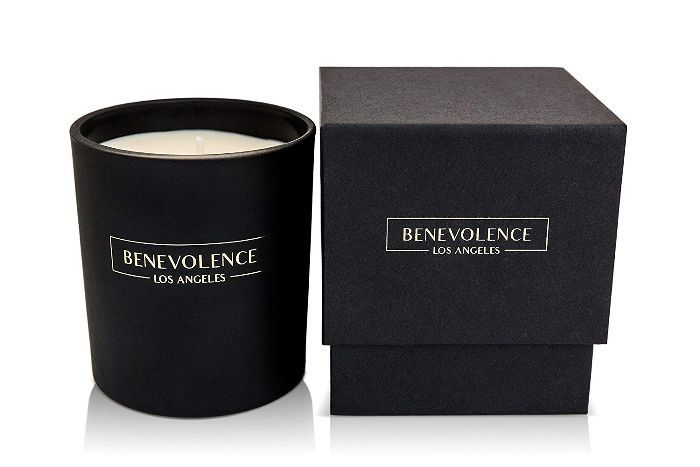 Benevolence LA Scented Soy Candles Aromatherapy Rose & Sandalwood Candle