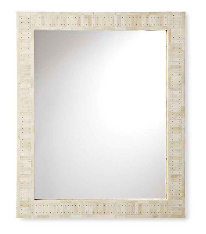 Cyprus Bone Inlay Mirror