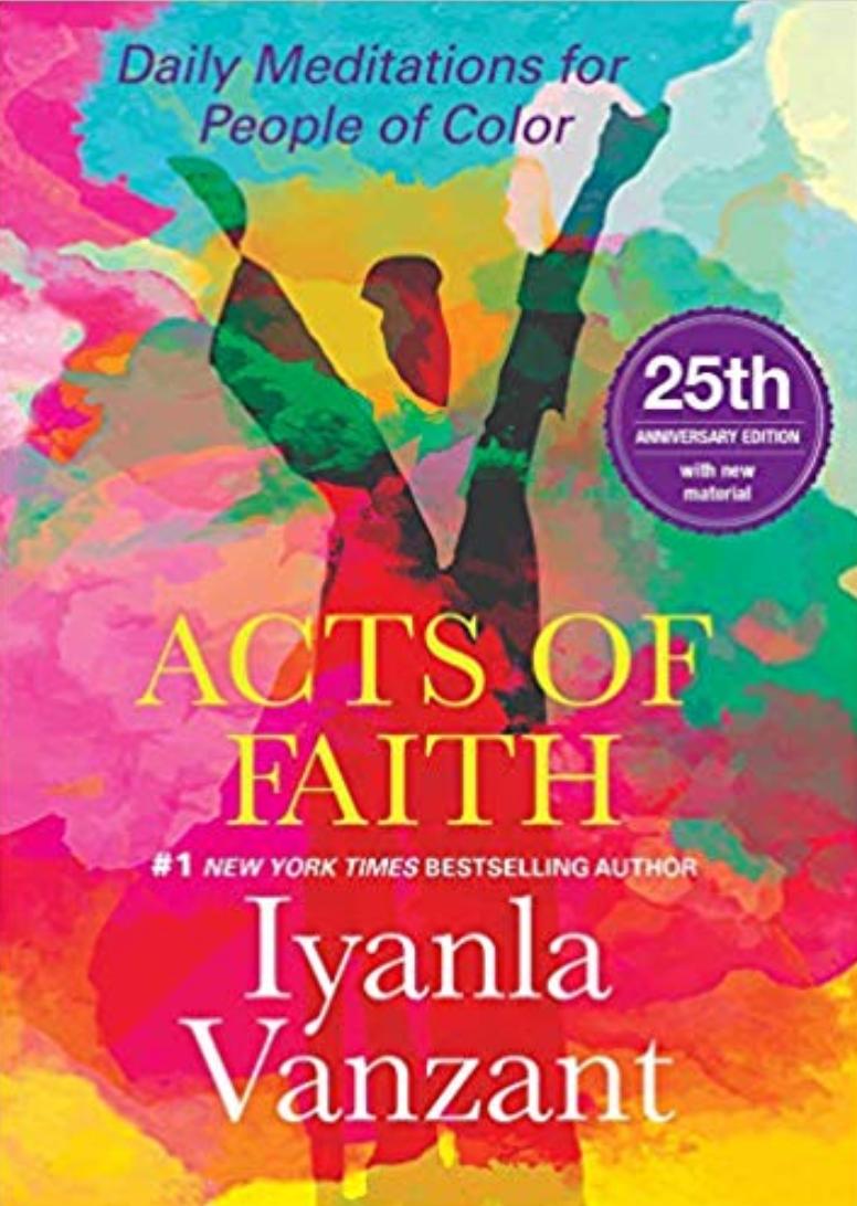Actos de fe: meditaciones diarias para personas de color por Iyanla Vanzant