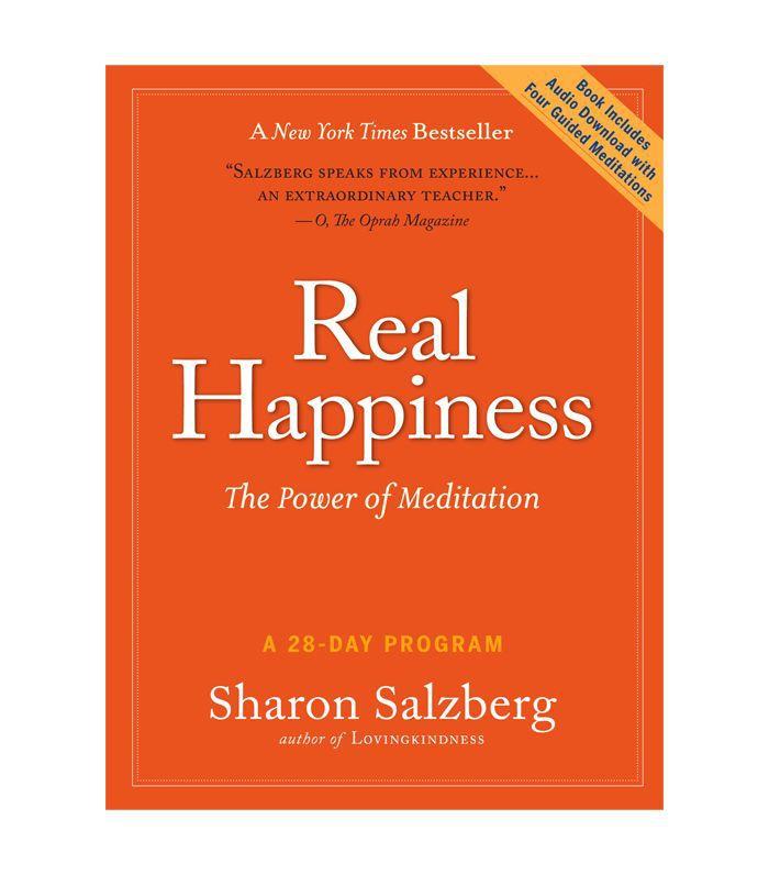 Felicidad real: el poder de la meditación por Sharon Salzberg