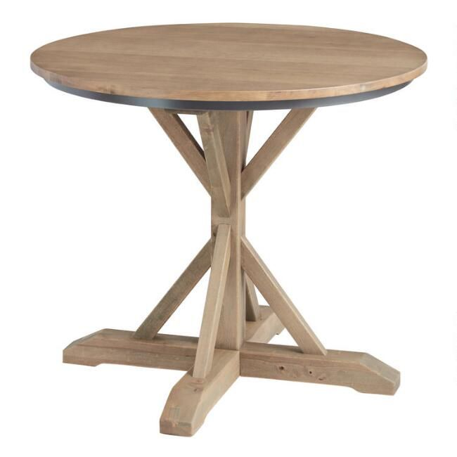 round bistro counter table