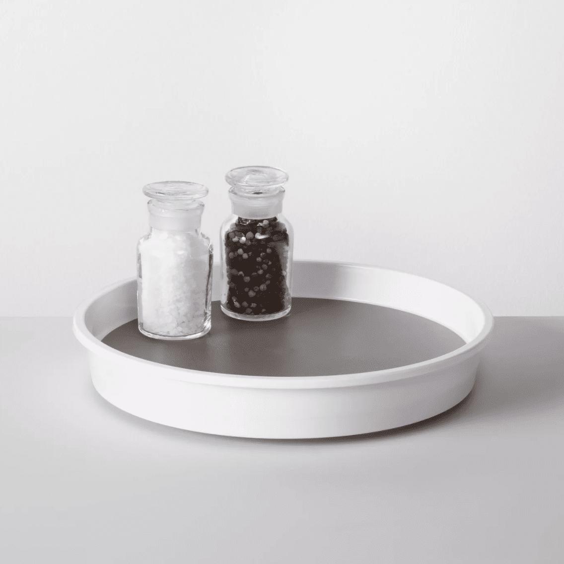 Kitchen Cabinet Turntable White -