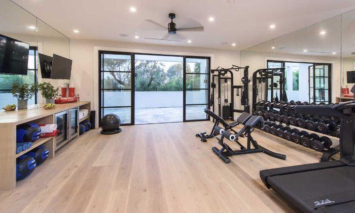 LeBron James's Home Gym