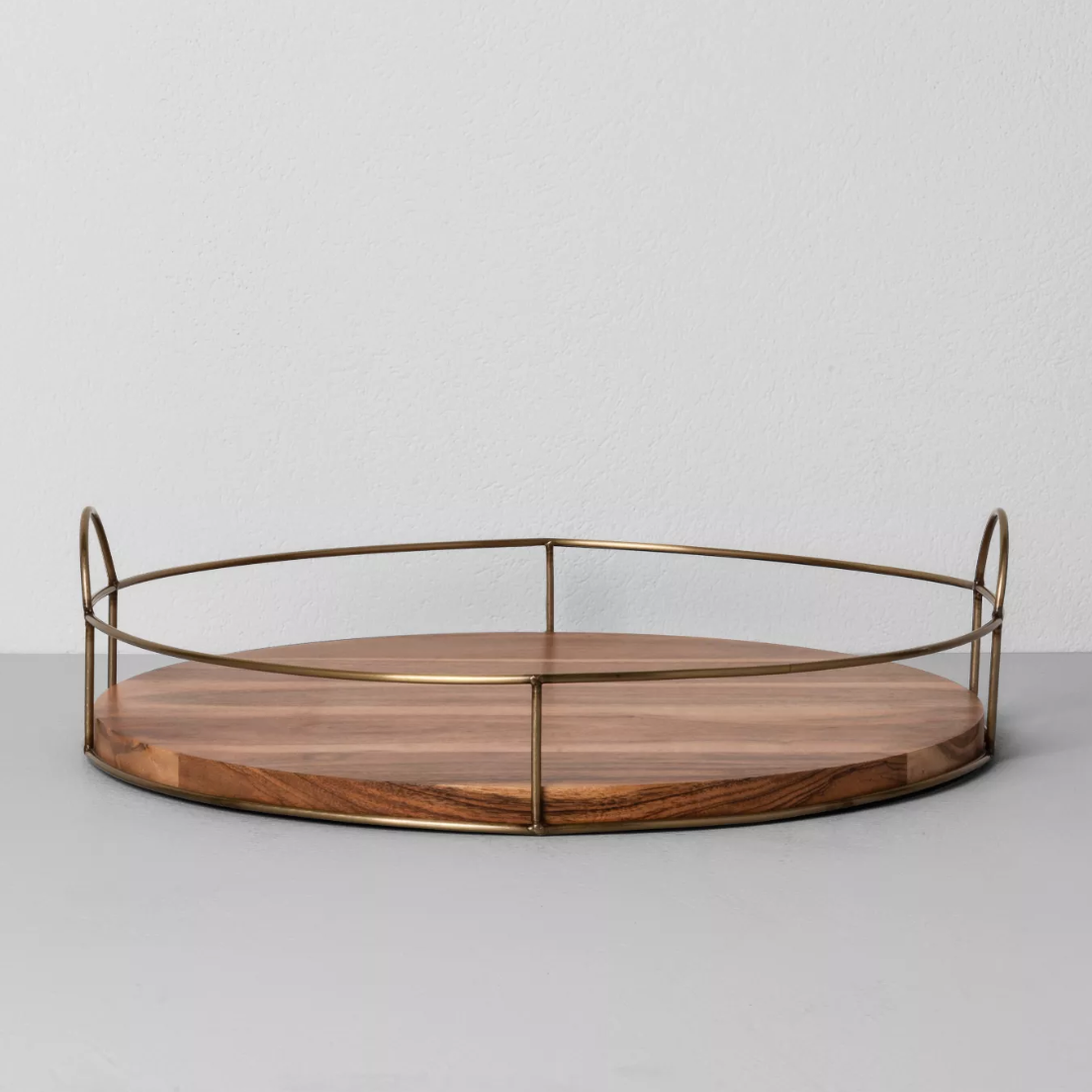 round wood and wire tray hearth and hand by magnolia
