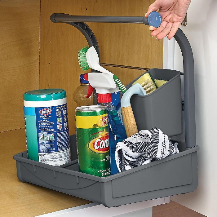 The Container Store Poder Under the Sink Storage Caddy