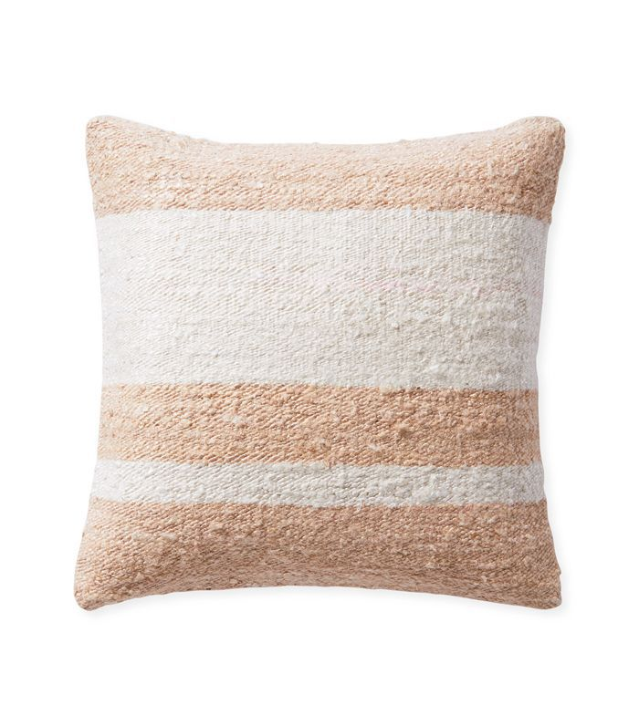 Keys Stripe Pillow Cover