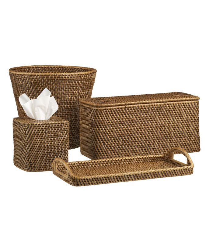Sedona Honey Vanity Tray - Crate and Barrel