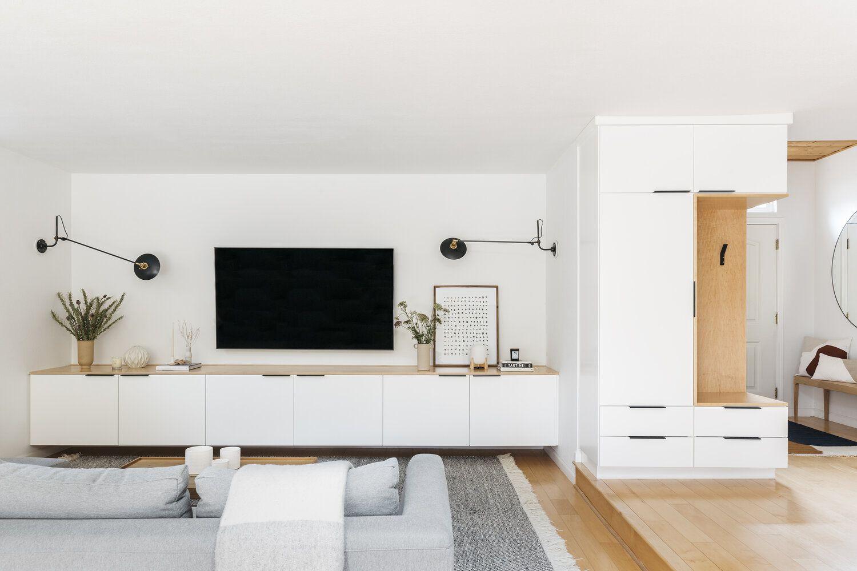 Bright, neutral, modern living room