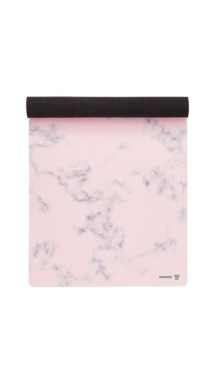 Blush Marble Yoga Mat