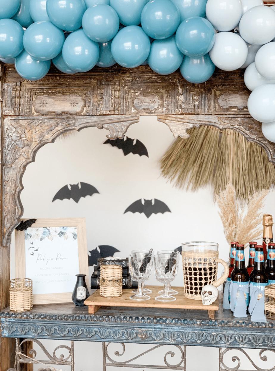 Halloween themed bar