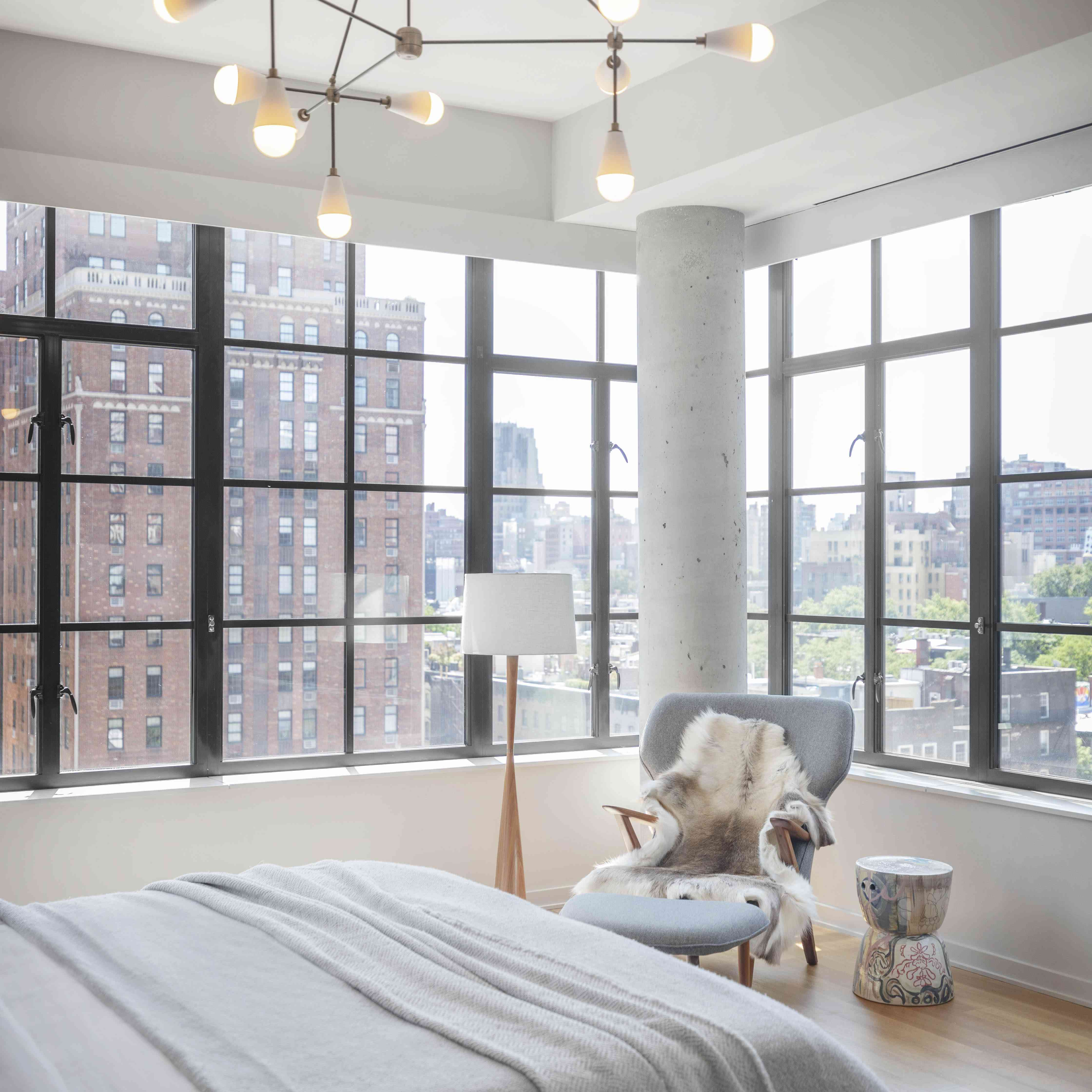 yael weiss nyc home tour - main bedroom