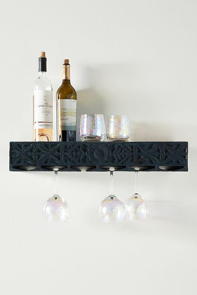 Lombok Wall-Mounted Bar Shelf