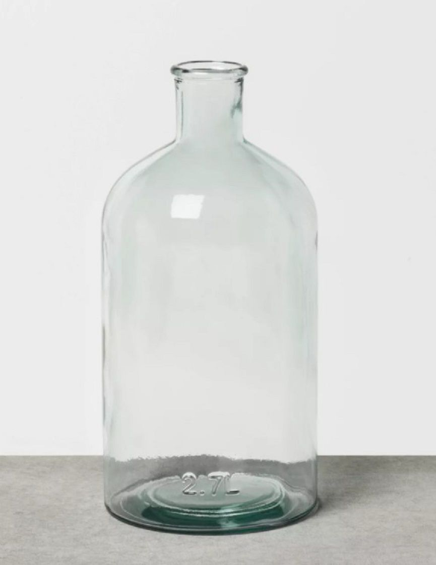 Hearth and Hand Magnolia Clear Glass Vase