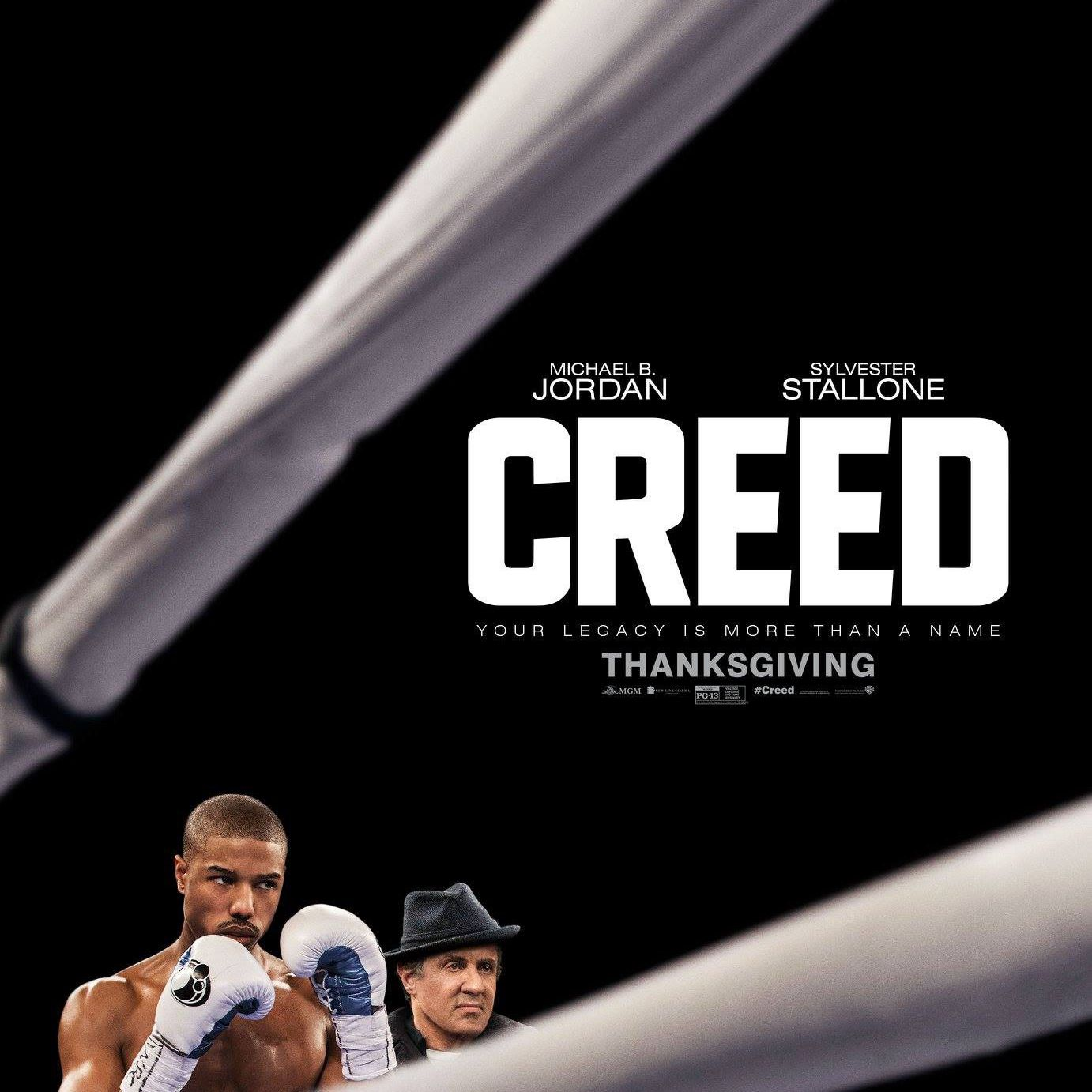 Creed (2015) poster.