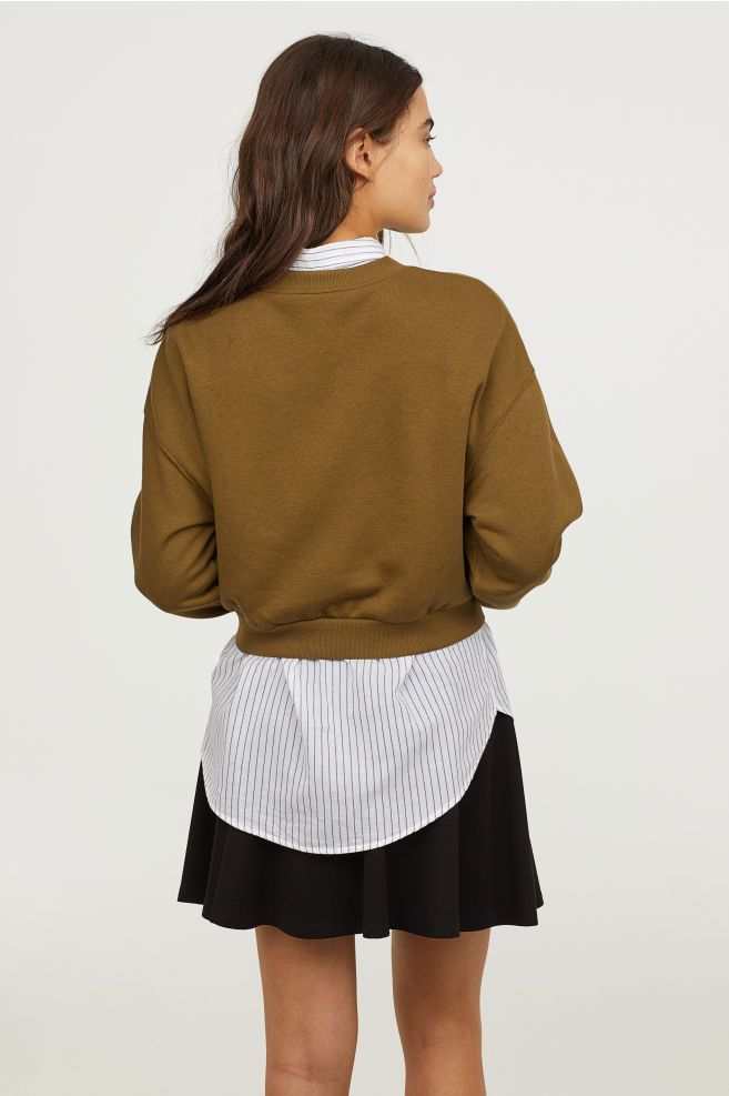 H&M Short Sweatshirt