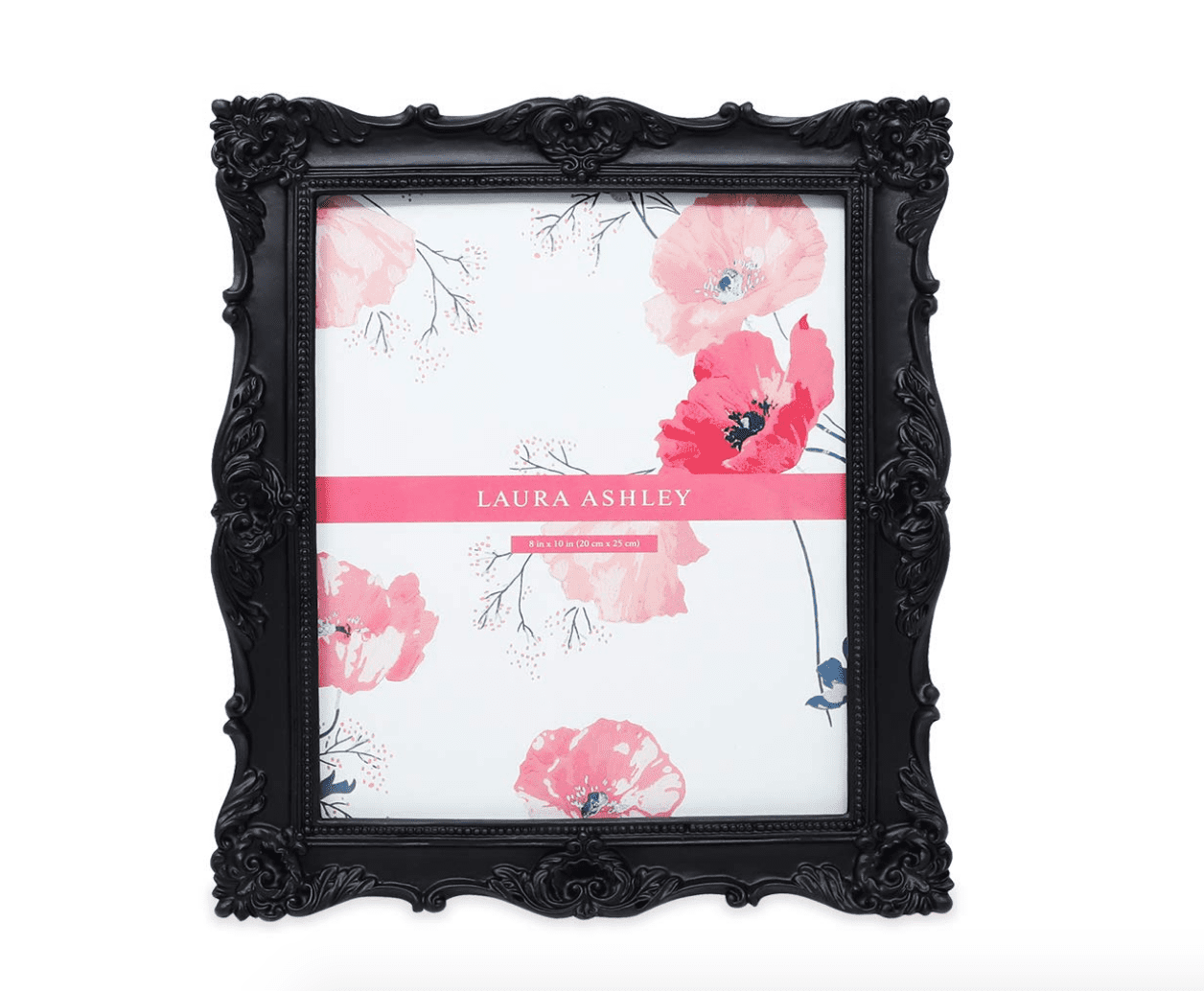 Black Ornate Textured Hand-Crafted Resin Picture Frame