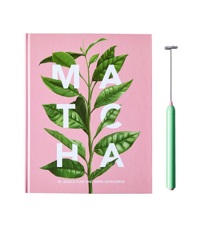 Matcha Guide Book and Whisk by Jessica Flint and Anna Kavaliunas